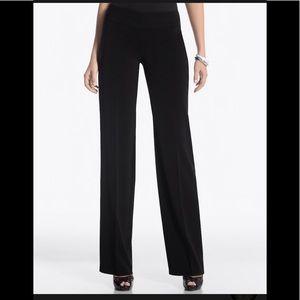 White house black market black wide leg pants 4